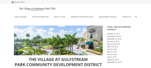 Thevillageatgulfstreampark Cdd